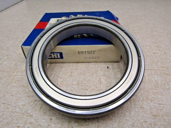 Nachi 6915 ZZ 75X105X16 mm Deep Groove Thin Bearing Metal Shields