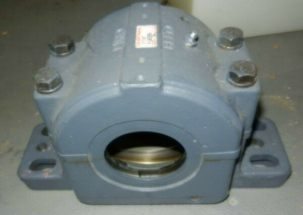 Link-Belt 2-7/16 spherical roller bearing pillow block carrier/housing, NOS