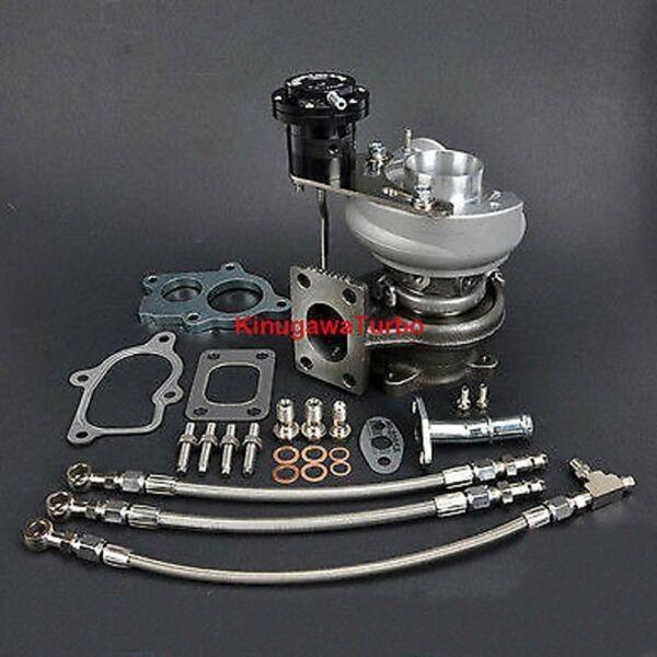 Kinugawa Turbocharger TD04L-15T / 6cm T25 Flange w/ Performance Thrust Bearing