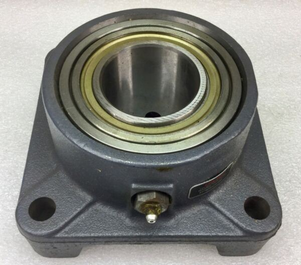 LINK BELT EFREB22439H 4-BOLT FLANGE MOUNTED BEARING 2.4375