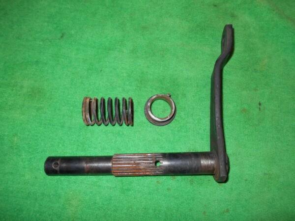 AM38577 John Deere 116H Shaft - Steering Gear Support, M74734 Bearing, M82388
