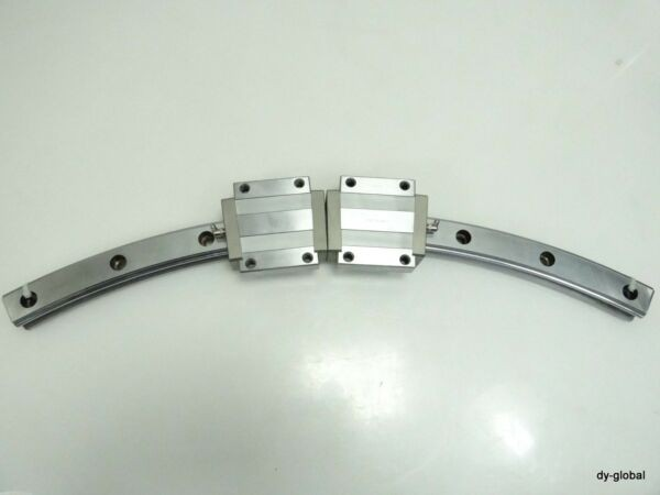 THK Used HCR45A+60/800R 1Rail 2Blocks Round LM Guide bearing for high temperatur