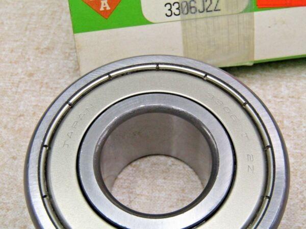 INA 3306- J2Z , 3306 - ZZ 30X72X30.2 mm Metal Shielded Bearing