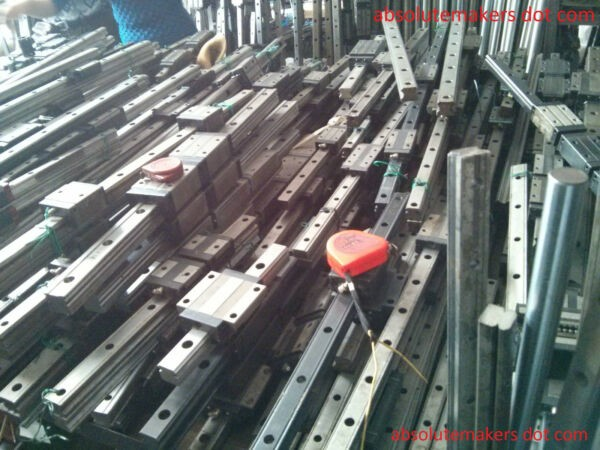 THK HSR20 various length L Used Linear Guide Rail Bearing CNC Router NSK IKO