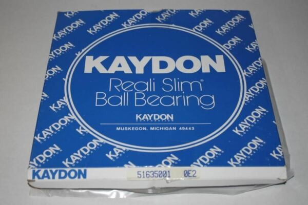 Kaydon Reali Slim Ball Bearing, Part Number 51635001; NEW