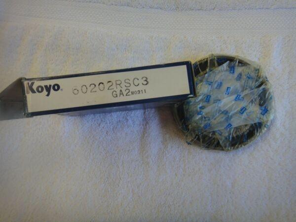 NIB KOYO Bearing   60202RSC3