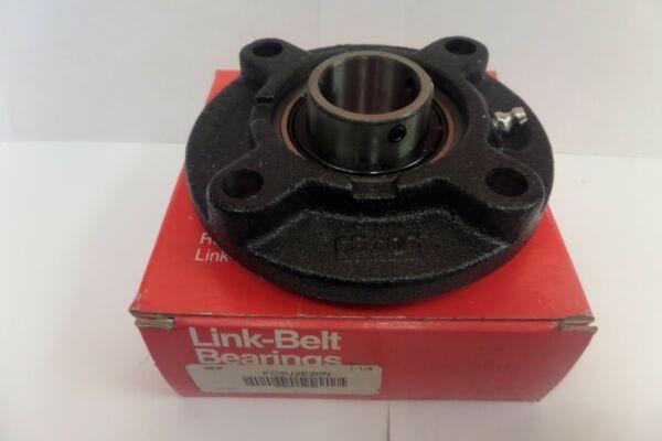 Link-Belt 4 Bolt Round Flange Bearing FC3U2E20N 1-1/4