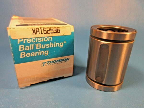 Thomson XA162536 Extra Precision Steel Ball Bushing(tm) Bearing, 1