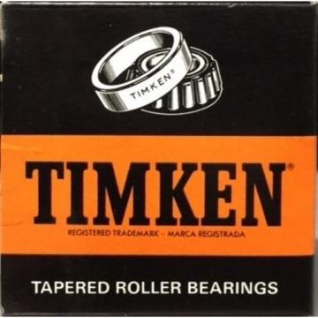 TIMKEN 672B TAPERED ROLLER BEARING, SINGLE CUP, STANDARD TOLERANCE, FLANGED O...