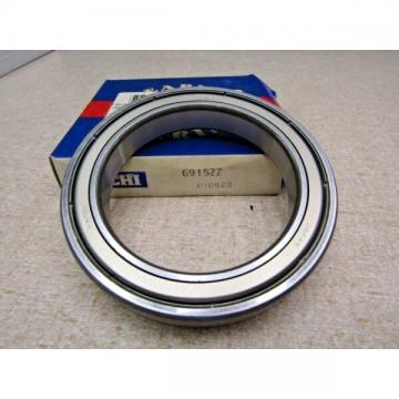 Nachi 6915 ZZ 75X105X16 mm Deep Groove Thin Bearing Metal Shields