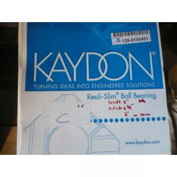 New Kaydon 17051001 Reali Slim Ball Bearing OM5 1J9Y5