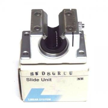 NIB NB NIPPON SWD8GRUU LINEAR BEARING SLIDE UNIT SWD-8, SWD8