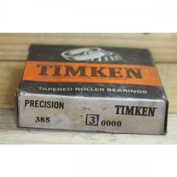 TIMKEN BEARING 385 3 PRECISION