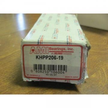 ASAHI KHPP206-19 PILLOW BLOCK BEARING