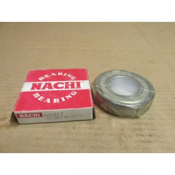 NIB NACHI 6208ZZ BEARING METAL SHIELD BOTH SIDES 6208 ZZ 40x80x18 mm NEW