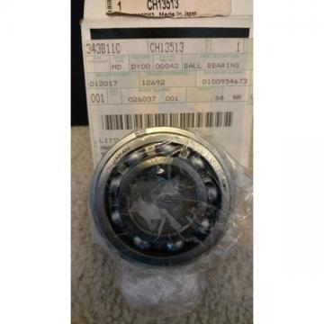 John Deere Original Equipment Ball Bearing #CH13513 New