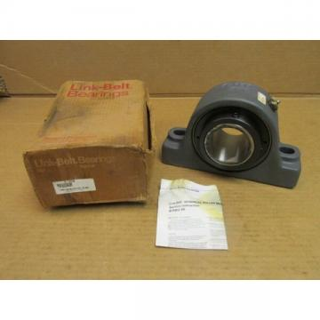"NIB LINK-BELT PKEB22443H PILLOW BLOCK ROLLER UNIT PKE-B22443H 2-11/16"" ID USA"