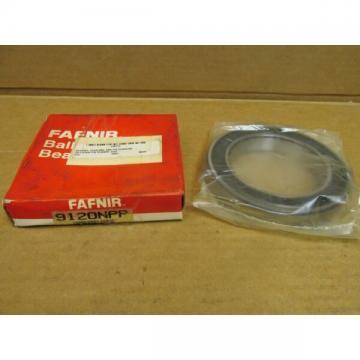 NIB FAFNIR 9120NPP BEARING RUBBER SEALED 9120 NPP 9120-2RS-C3 100x150x24 mm USA