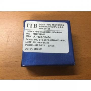RBC Aerospace BEARING BALL AIRFRAME KP12A FS464  MS27641-12 ITB