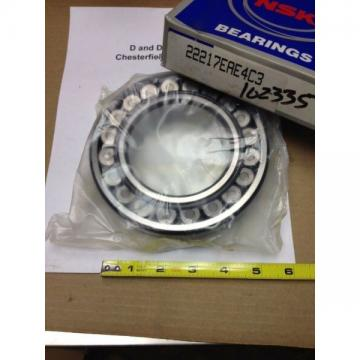 NSK 22217EAE4 C3, Spherical Roller Bearing, 85mm Bore, 150mm OD, Steel