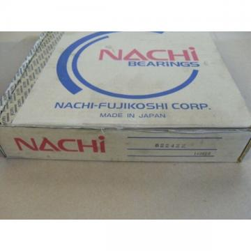 Nachi 6224ZZ C3 Single Row Deep Groove Ball Bearing, 120mm x 215mm x 40mm
