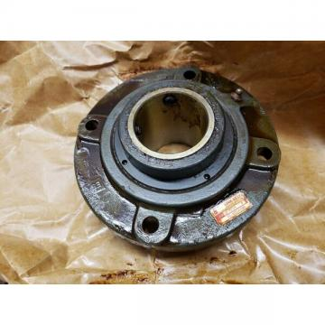 "Genuine Link-Belt FCB22439H Roller Bearing Flange Unit 4 Bolt Hole 2-7/16"" Bore"