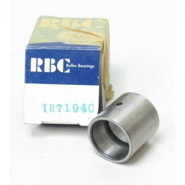"RBC IR7194C NEEDLE ROLLER BEARING INNER RING, .8125"" x 1.000"" x 1.010"""