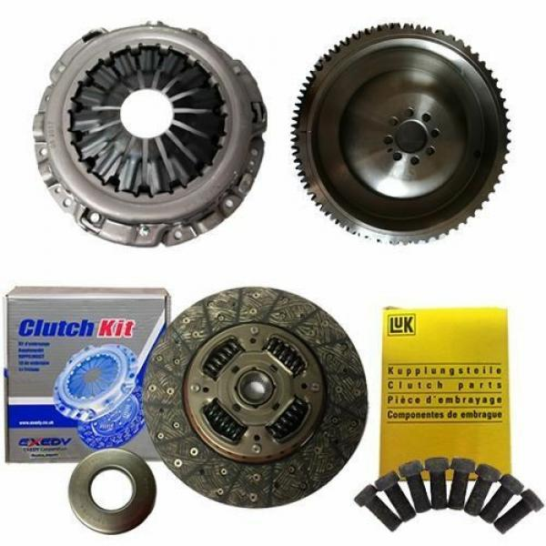 EXEDY CLUTCH PLATE AND BEARING,COVER, FLYWHEEL FOR NAVARA PICKUP 2.5 DCI 4WD #1 image