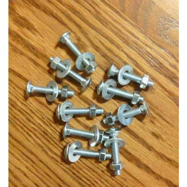 New John Deere Mower Deck Bearing Mandrel Mounting bolts  318,317,140 #1 image