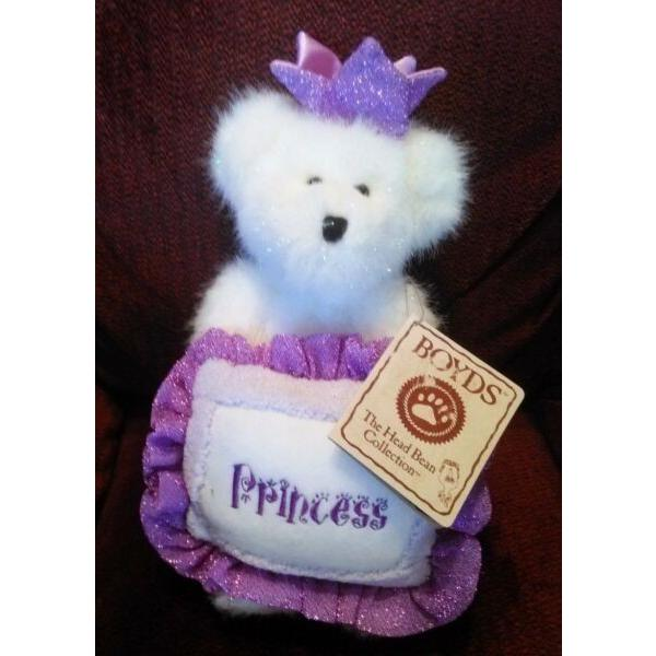 New ListingNEW Princess Alaina Jointed Bear - The Boyds Collection - Thinkin' of Ya Series #1 image