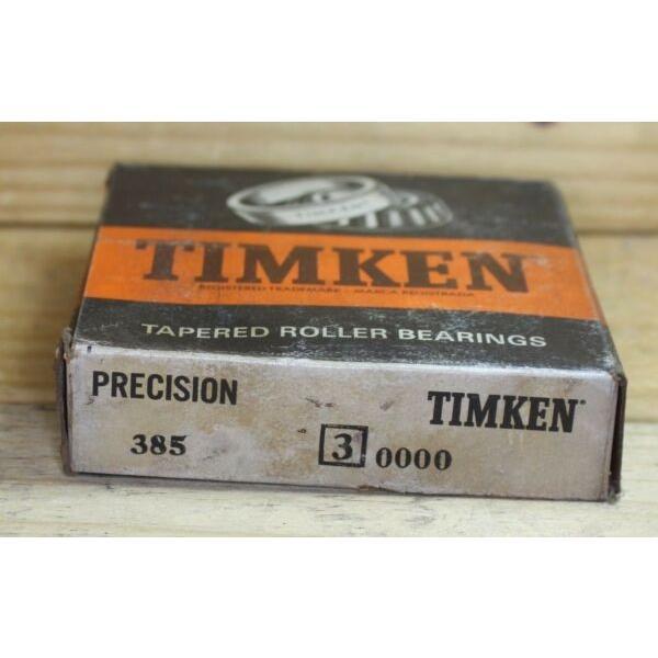 TIMKEN BEARING 385 3 PRECISION #1 image
