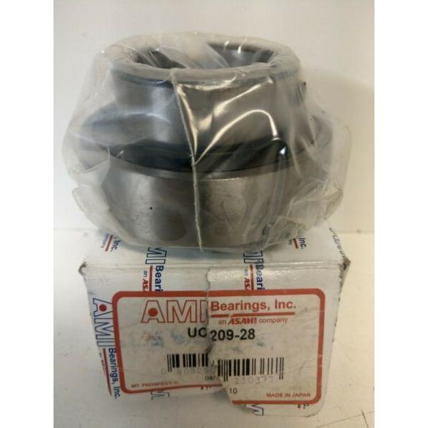 NEW IN BOX! ASAHI AMI PILLOW BLOCK BEARING UC209-28 #1 image