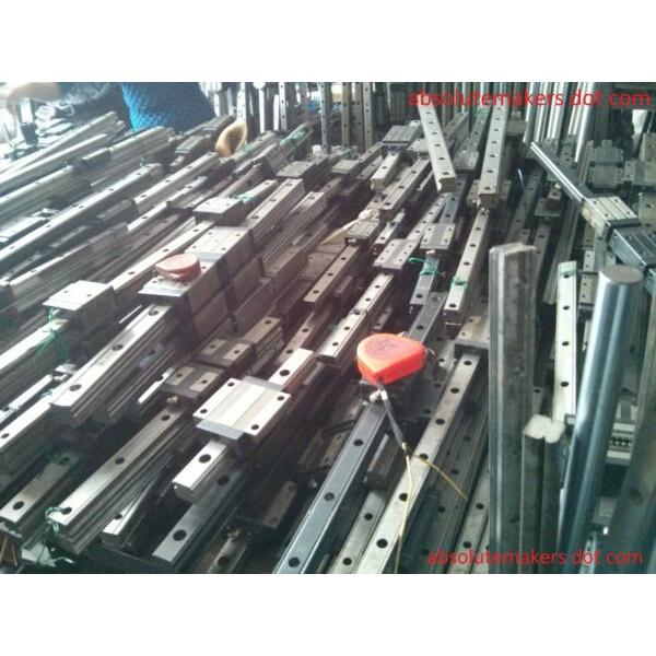 THK HSR20 various length L Used Linear Guide Rail Bearing CNC Router NSK IKO #1 image