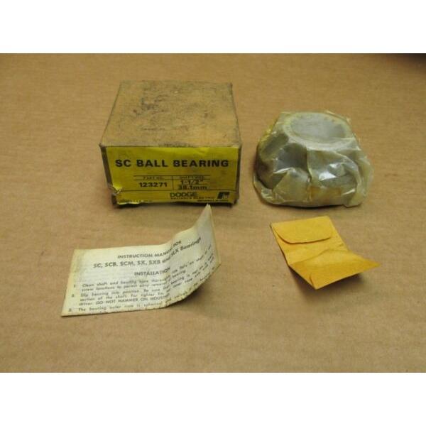"DODGE 123271 BEARING INSERT 1-1/2"" ID USA #1 image"