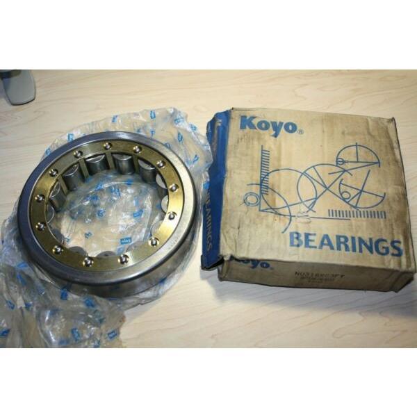 Koyo Bearing Outer Ring Assembly NU218RC3FY New Old Stock Bearing K0210 Koyo #1 image